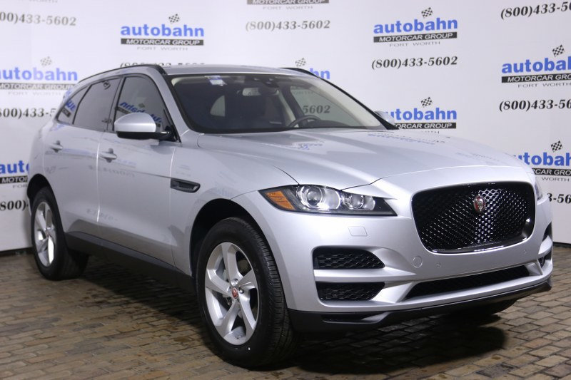 certified pre owned 2018 jaguar f pace 25t premium awd suv in fort worth j18084 autobahn land. Black Bedroom Furniture Sets. Home Design Ideas