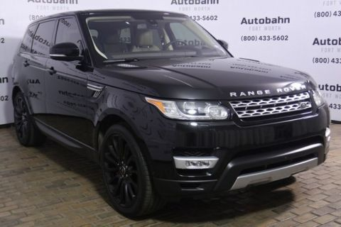 Certified Pre-Owned 2016 Land Rover Range Rover Sport 5.0L V8 Supercharged