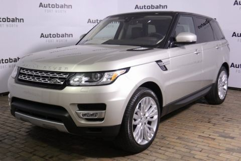 Certified Pre-Owned 2017 Land Rover Range Rover Sport 3.0L V6 Supercharged HSE